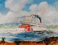 Delta Queen (Watercolor)