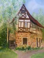 Old Fach Werkhaus (Watercolor)